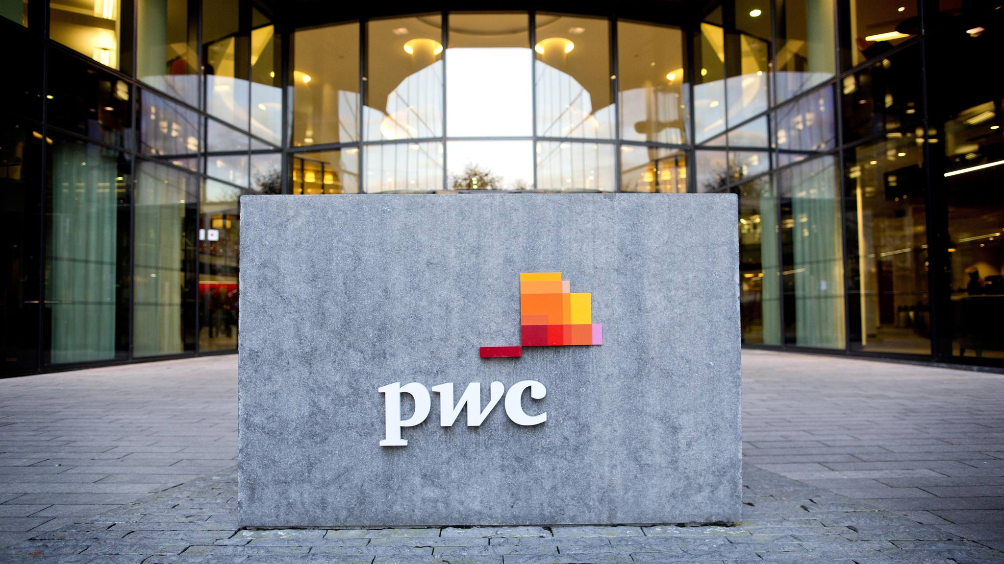 PricewaterhouseCoopers (PWC) лого